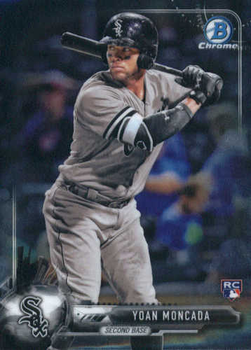 Photo of 2017 Bowman Chrome #50A Yoan Moncada RC