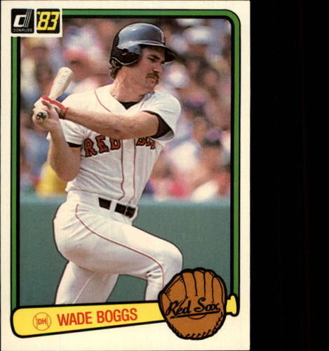 Photo of 1983 Donruss #586 Wade Boggs RC