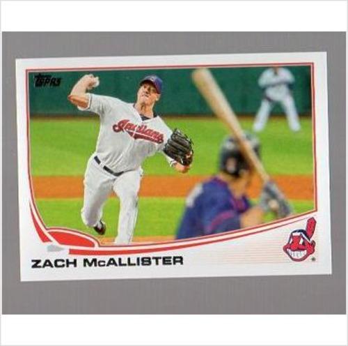 Photo of 2013 Topps #513 Zach McAllister