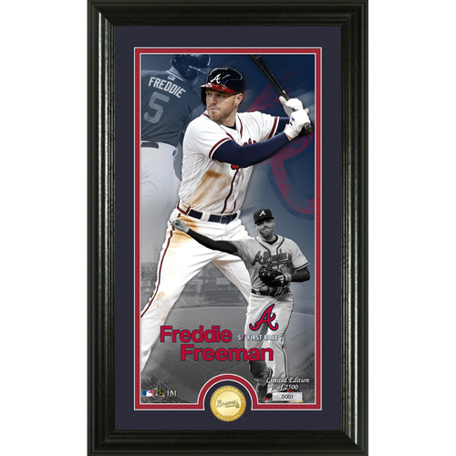 Photo of Freddie Freeman Supreme Bronze Coin Photo Mint