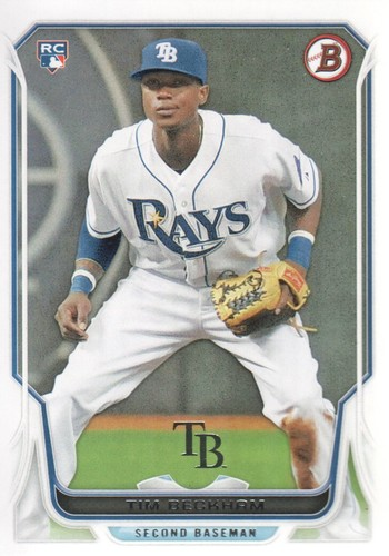 Photo of 2014 Bowman #215 Tim Beckham RC