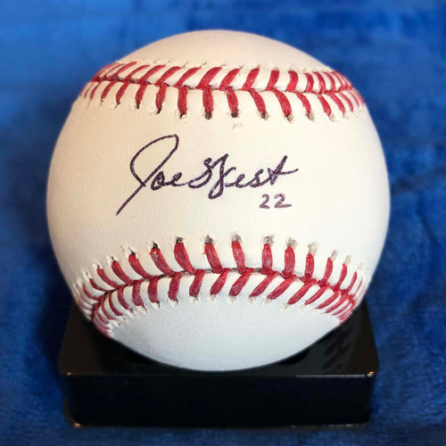 Photo of UMPS CARE AUCTION: Joe West Signed Baseball