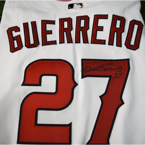Photo of Rays Baseball Foundation Auction: Vladimir Guerrero Autographed Jersey - Size 50