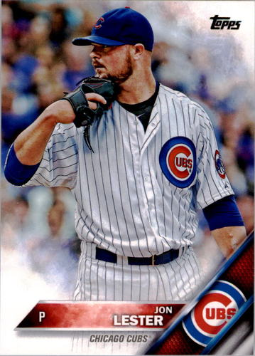Photo of 2016 Topps #151 Jon Lester