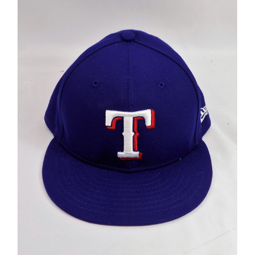 Photo of Nomar Mazara Blue Team-Issued Cap