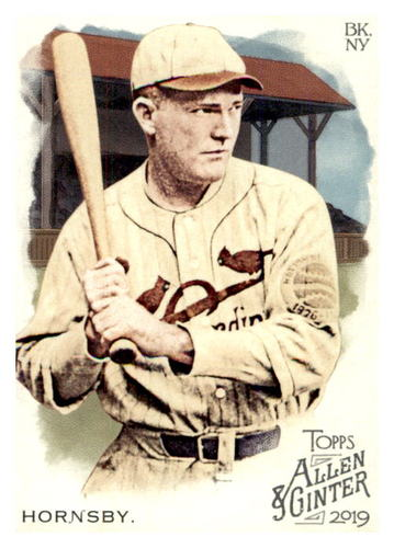 Photo of 2019 Topps Allen and Ginter #384 Rogers Hornsby SP