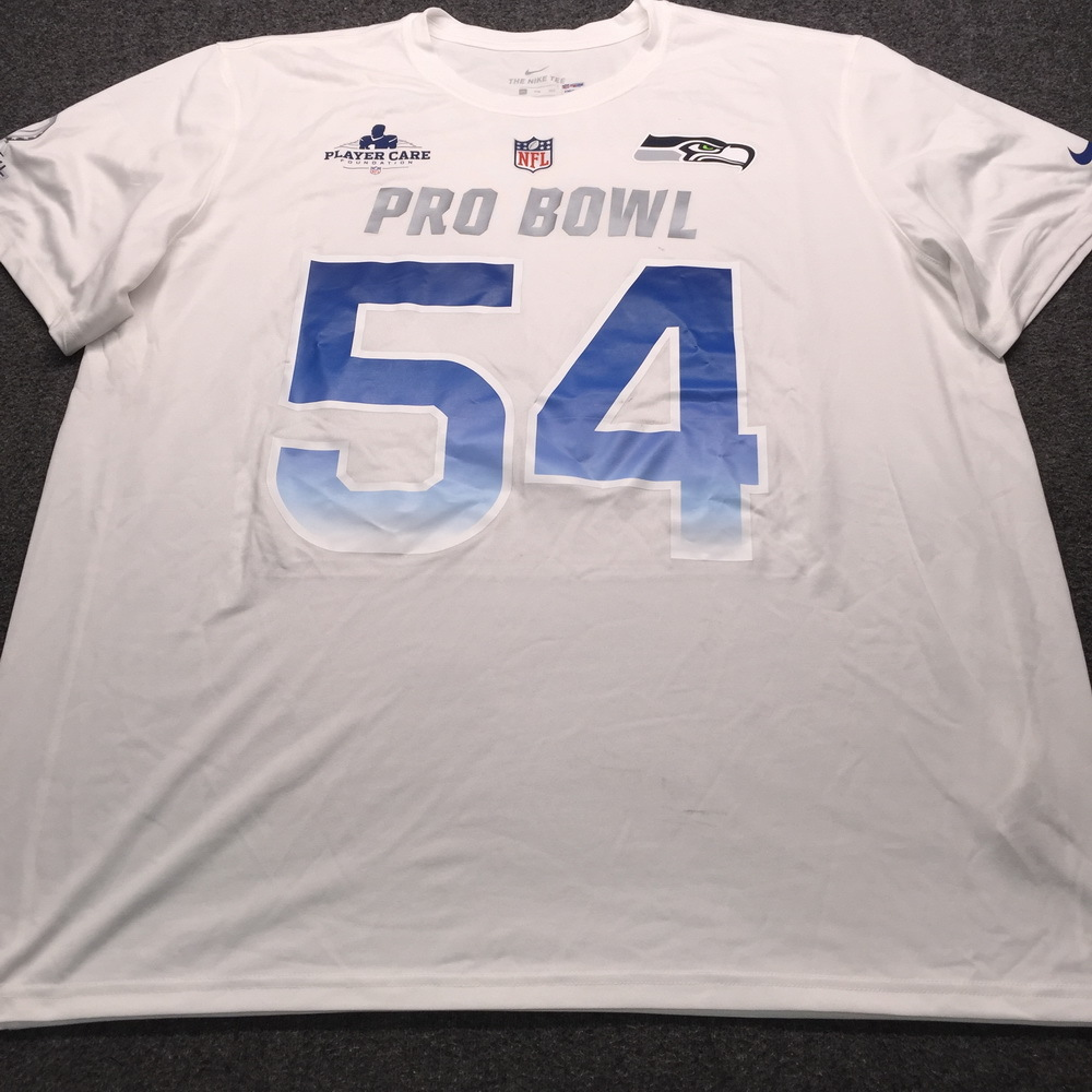 PCF - Seahawks Bobby Wagner NFC Practice Used Pro Bowl 2019 Shirt Size XXL