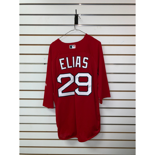 Photo of Roenis Elias Team Issued Home Batting Practice Jersey