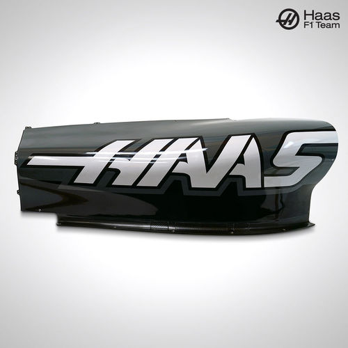 Photo of Haas F1 Team 2017 Right Black & Grey Side Pod