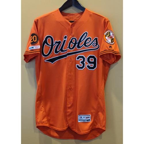 Photo of Renato Nunez - Orange Alternate Jersey: Game-Used (Solo HR)