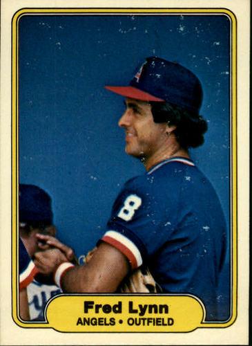 Photo of 1982 Fleer #468 Fred Lynn