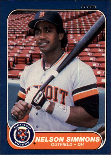 Photo of 1986 Fleer #238 Nelson Simmons