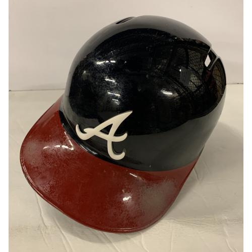 Photo of Freddie Freeman Game Used Postseason Helmet - Worn 10/3/19