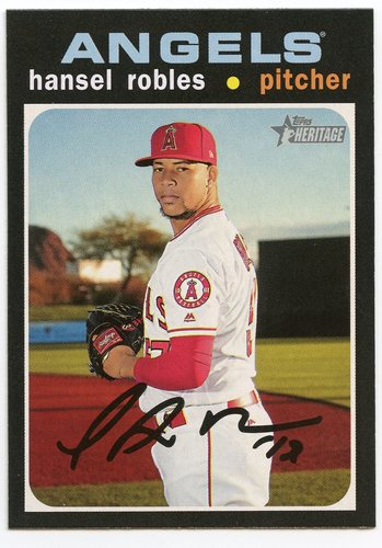 Photo of 2020 Topps Heritage #375 Hansel Robles