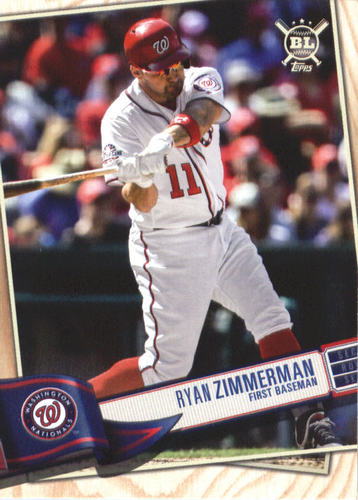 Photo of 2019 Topps Big League #268 Ryan Zimmerman