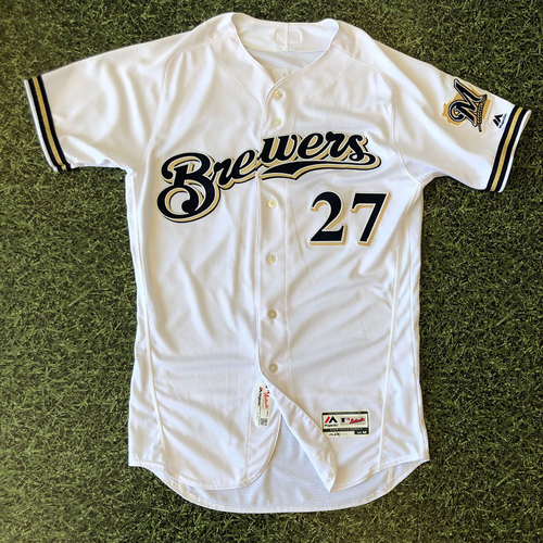 Game Used Jersey: Zach Davies #27 Opening Day 2017