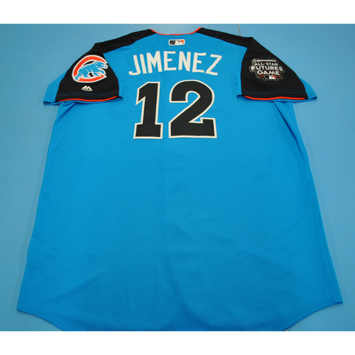 Photo of Game-Used Batting Practice Jersey - 2017 All-Star Futures Game - Eloy Jimenez - Size 48 - Only Worn During Batting Practice