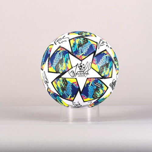 Photo of A 19/20 Champions League ball signed by the Club Zenit Team