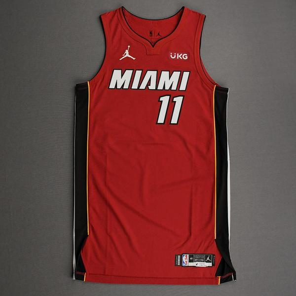Image of Avery Bradley - Miami Heat - Game-Worn - Statement Edition Jersey - Christmas Day 2020