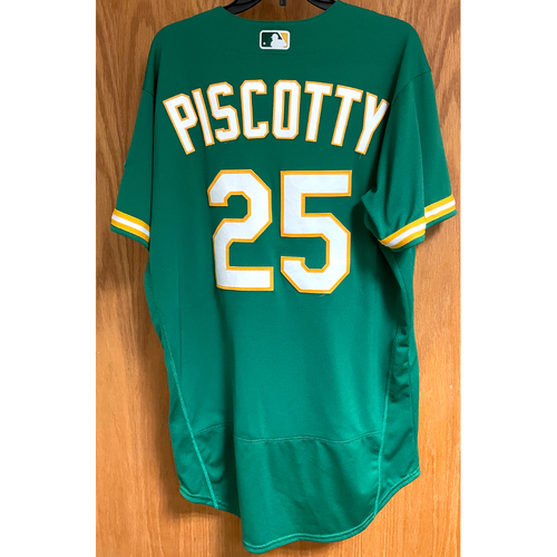 Game-Used Jersey - Stephen Piscotty (HR #1) (Authenticated for 3 games)