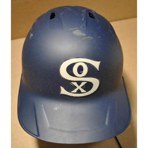 2021 New York Yankees vs. Chicago White Sox in Dyersville, Iowa - Game-Used Batting Helmet - Tim Anderson #7