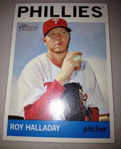 Photo of 2013 Topps Heritage #462 Roy Halladay SP