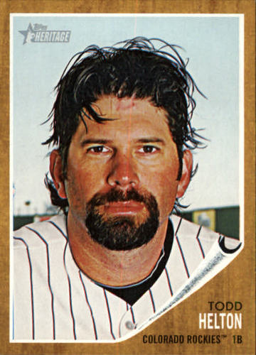 Photo of 2011 Topps Heritage #190 Todd Helton