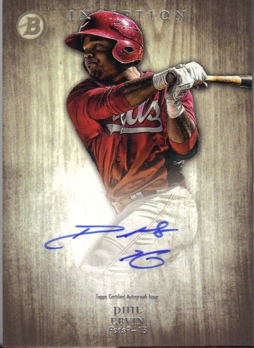 Photo of 2014 Bowman Inception Prospect Autographs #PAPE Phil Ervin