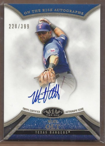 Photo of 2013 Topps Tier One On the Rise Autographs #MO1 Mike Olt/399