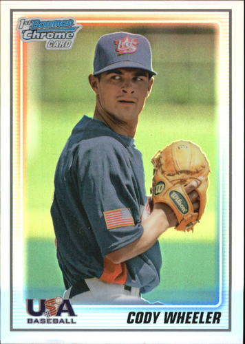 Photo of 2010 Bowman Chrome USA Baseball Refractors #BC18 Cody Wheeler