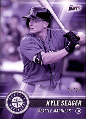 Photo of 2017 Topps Bunt Purple #168 Kyle Seager 25/25