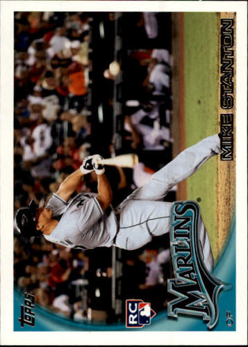 Photo of 2010 Topps Update #US50A Mike Stanton  Rookie Card