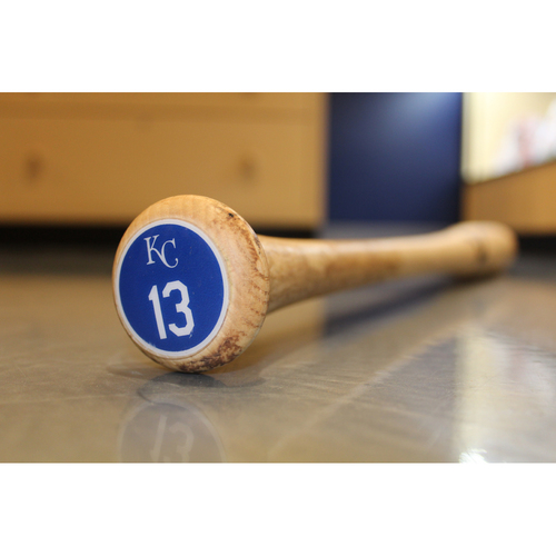 Photo of Team-Issued Bat: Salvador Perez