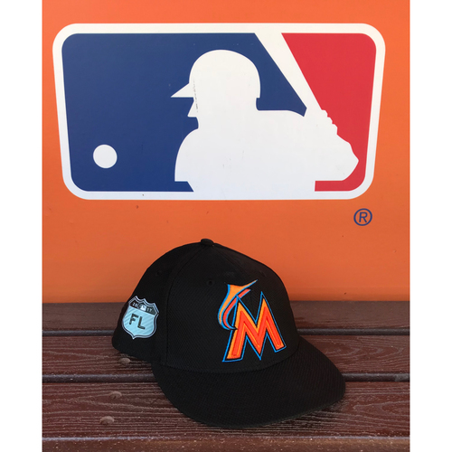 Photo of Game-Used Cap: Wei-Yin Chen (2017 Spring Training - Size 6 3/4)