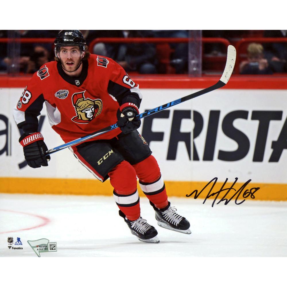 Mike Hoffman Ottawa Senators Autographed 8