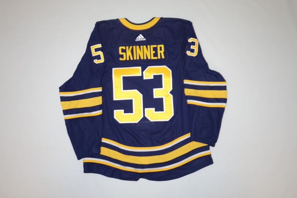 on sale 5d5db e1942 Jeff Skinner 2018-19 Buffalo Sabres Set 2 Home Jersey - NHL ...