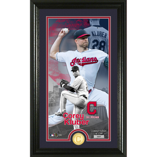 Photo of Corey Kluber Supreme Bronze Coin Photo Mint