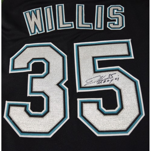 Photo of Rays Baseball Foundation Auction: Dontrelle Willis Autographed Jersey - Size 55