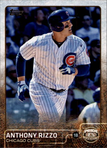 Photo of 2015 Topps Update Pride and Perseverance #PP12 Anthony Rizzo