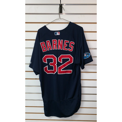 Photo of Matt Barnes Game Used September 21, 2018 Road Alternate Jersey