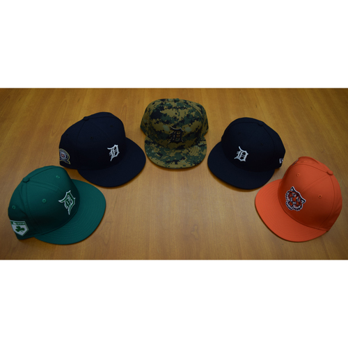 Detroit Tigers Foundation - Clubhouse Issued Cap Collection #2 (NOT MLB AUTHENTICATED)