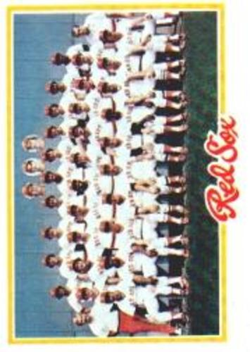 Photo of 1978 Topps #424 Boston Red Sox CL