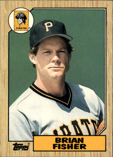 Photo of 1987 Topps Traded #33T Brian Fisher