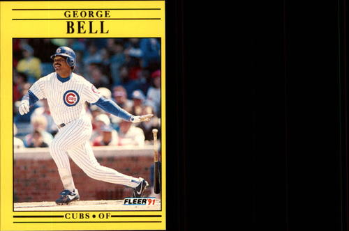 Photo of 1991 Fleer Update #77 George Bell