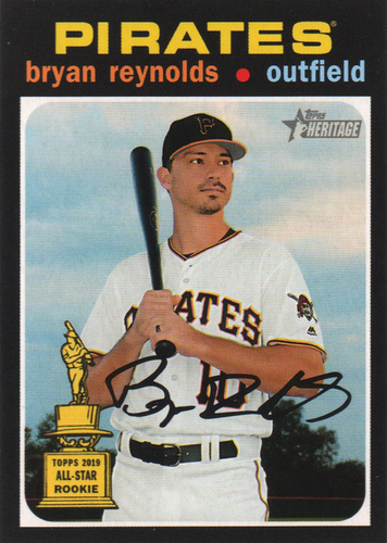 Photo of 2020 Topps Heritage #383 Bryan Reynolds