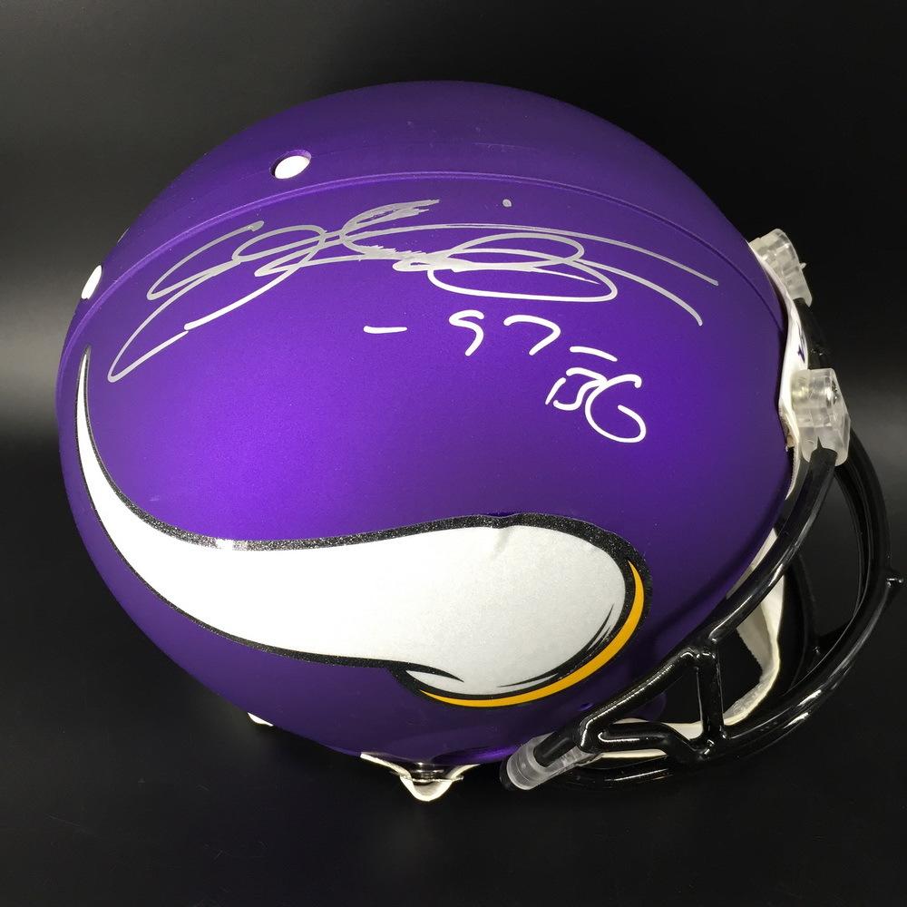NFL - Vikings Everson Griffen Signed Proline Helmet