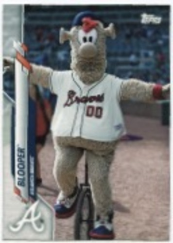 Photo of 2020 Topps Opening Day Mascots #M11 Blooper