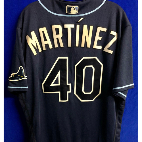 Photo of Team Issued Navy Jersey: Jose Martinez
