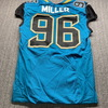 Jaguars - Roy Miller Game Issued Jersey 46