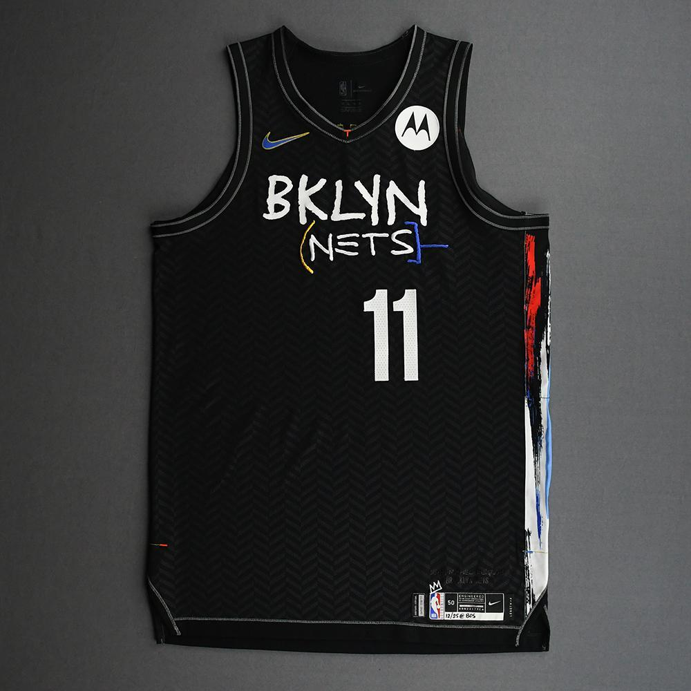 Kyrie Irving - Brooklyn Nets - Game-Worn City Edition Jersey - Scored Game-High 37 Points - 2020-21 NBA Season
